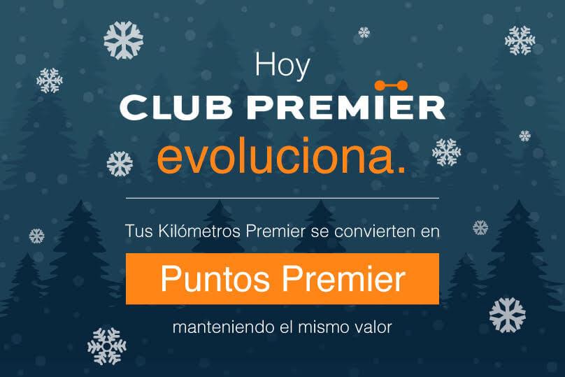¿Aún no eres socio Club Premier?